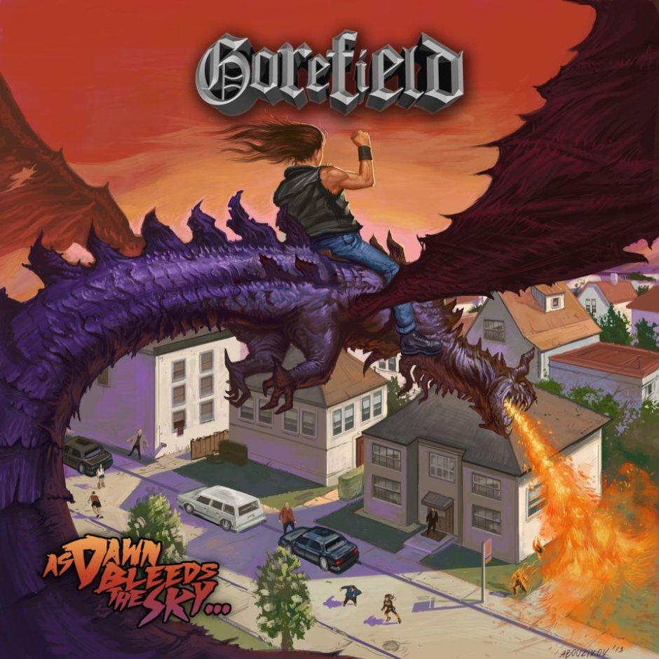 Gorefield - As Dawn Bleeds The Sky