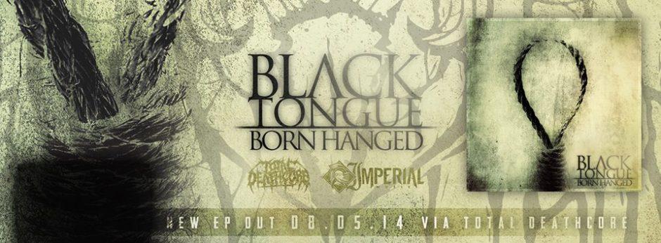 born hanged black tongue banner