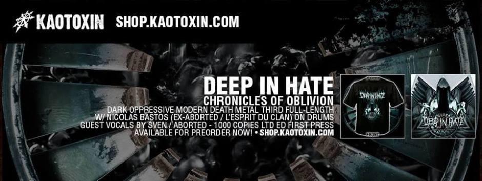 deep in hate banner album art preorder