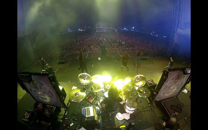 live shot Eluveitie